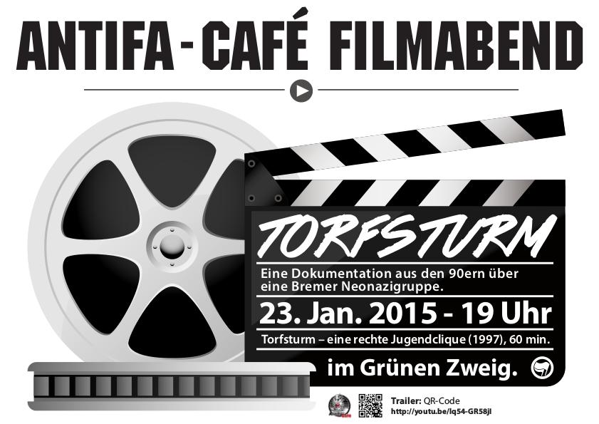 Flyer Antifa Cafe Januar