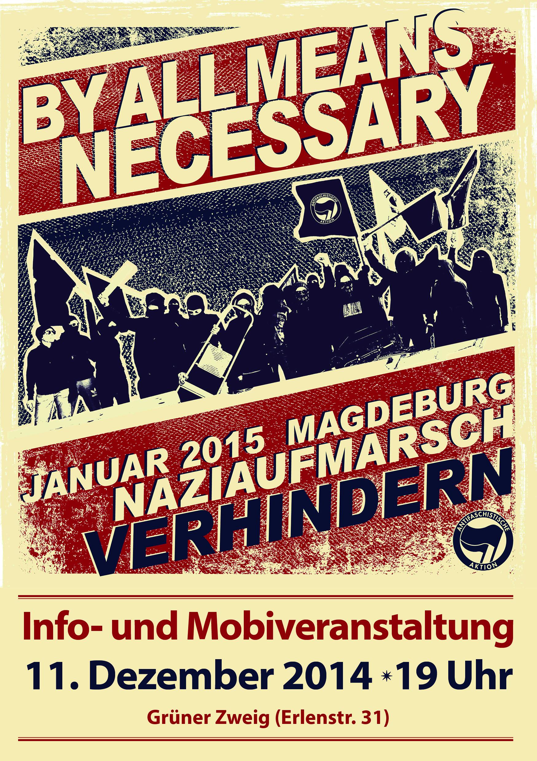Flyer Info- und Mobiveranstaltung 11.12.14